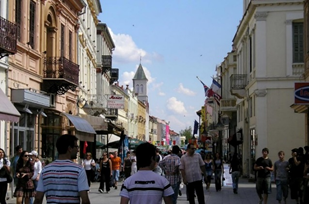 Figure 1. An example of mixed-use zoning in Bitola, Macedonia