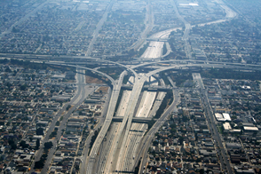 Figure 6. Highway system in Los Angeles, CA