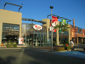 Figure 2. An example of a strip mall common in suburbs