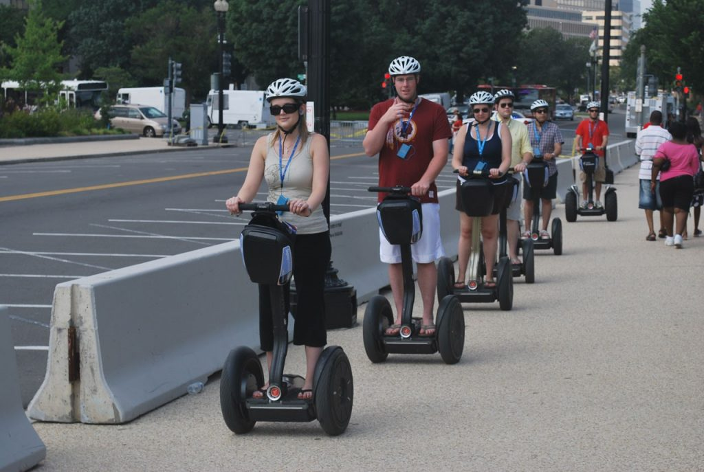 Segways in the ciity