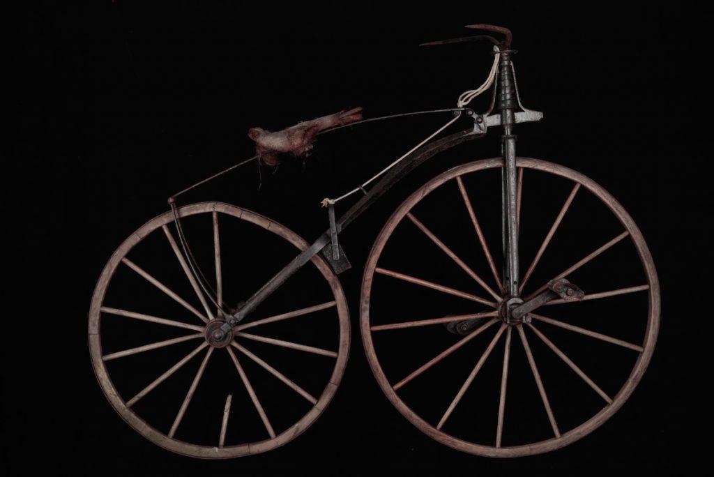 Pierre Michaux's velocipede model
