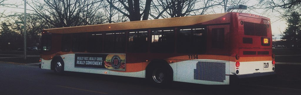 ISU bus.