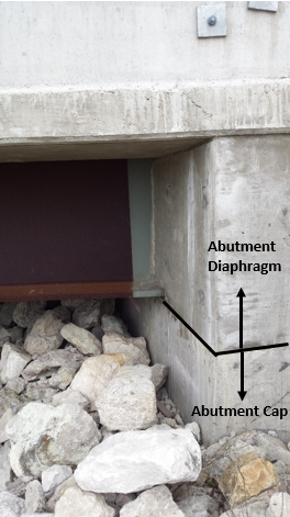 Figure 1. Cast-in-place integral bridge abutment