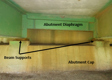 Figure 2. Cast-in-place stub bridge abutment