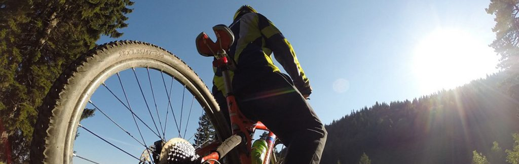 Bike on a sunny day