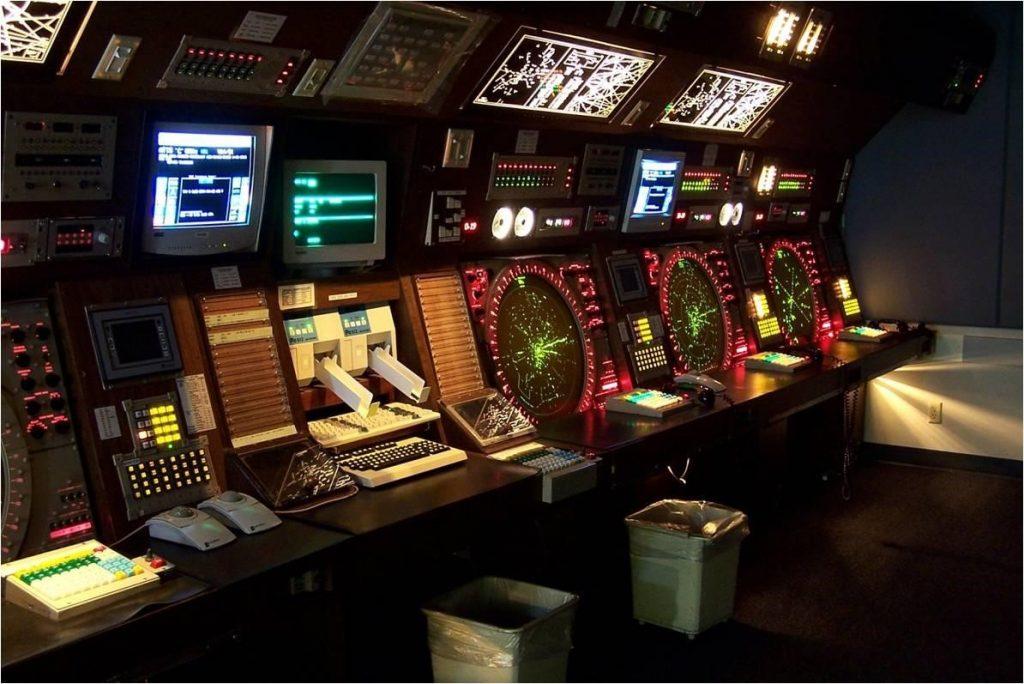 Inside a Terminal Radar Approach Control Center (TRACON)