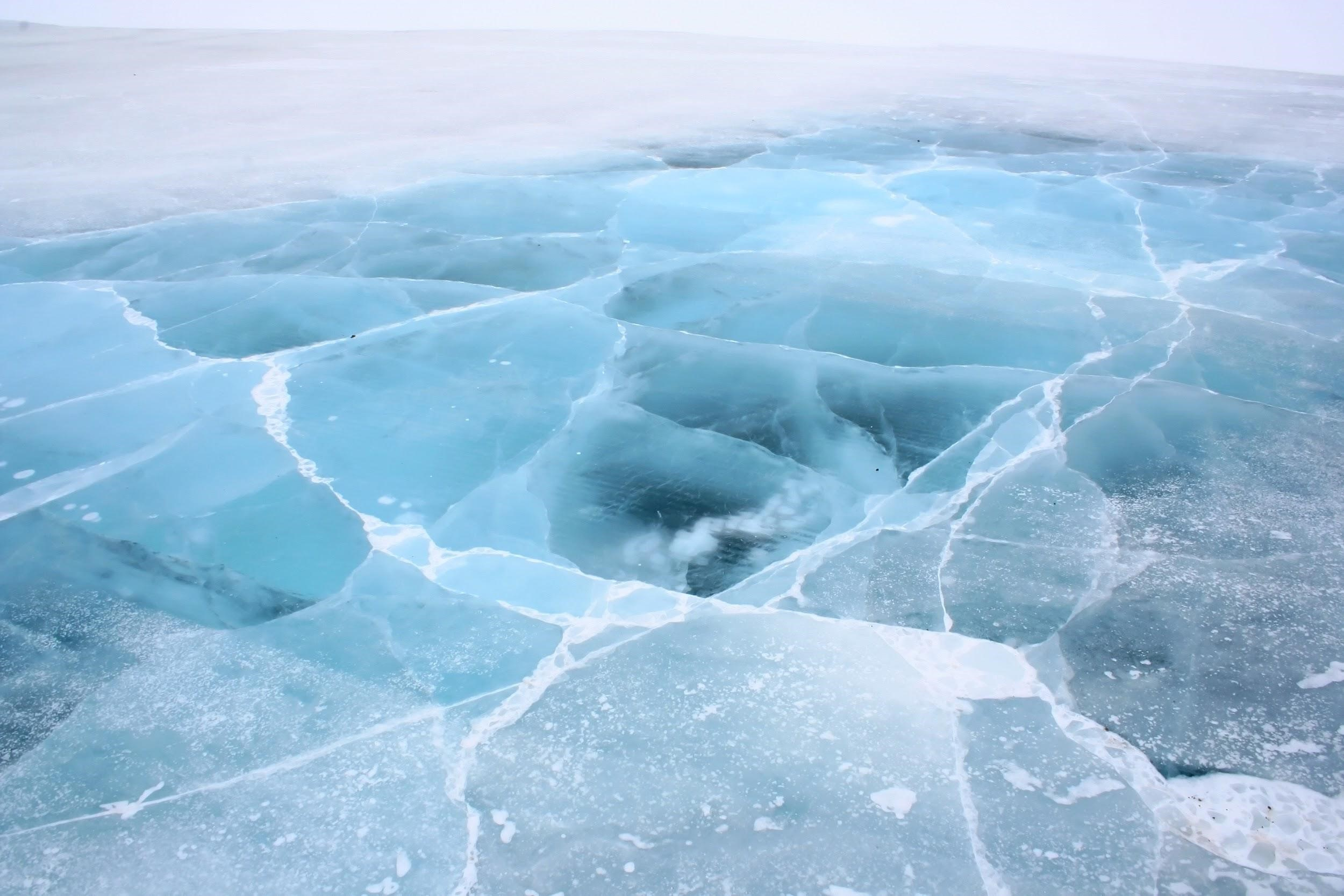 """What an """"ice road"""" looks like"""