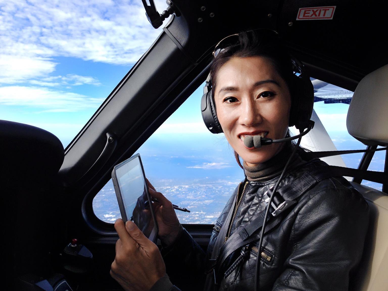 Chinese pilot Wang Zheng