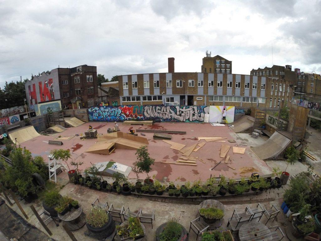 Frontside Gardens in Hackney Wick, London
