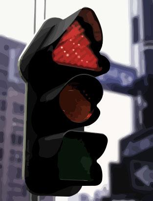 New traffic light technology