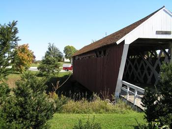 Imes Bridge (built 1870), located in Madison County, Iowa