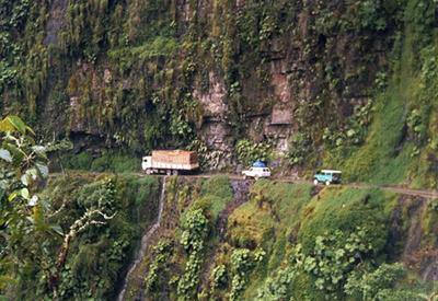Yungas, Bolivia