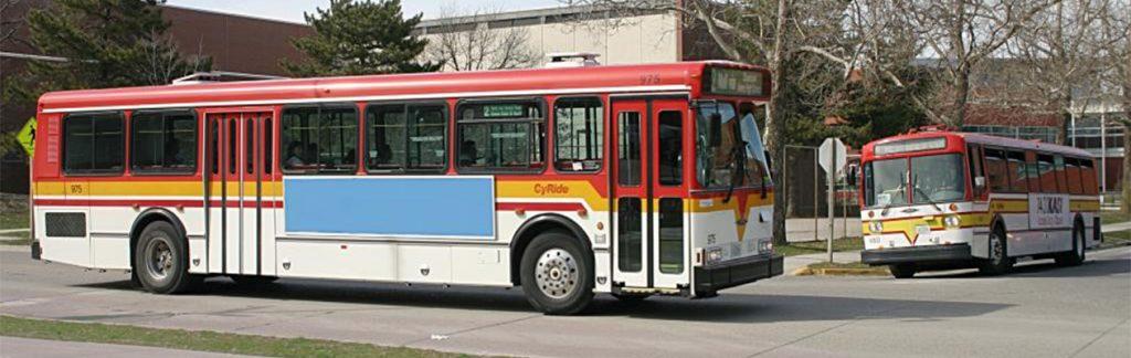 Cyride bus