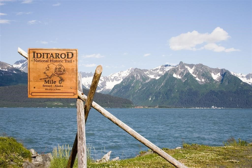 Mile 0 of the Iditarod National Historic Trail