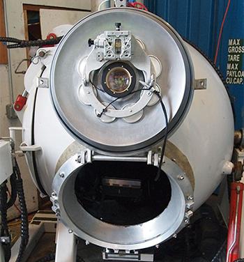 Deepsea challenger capsule.