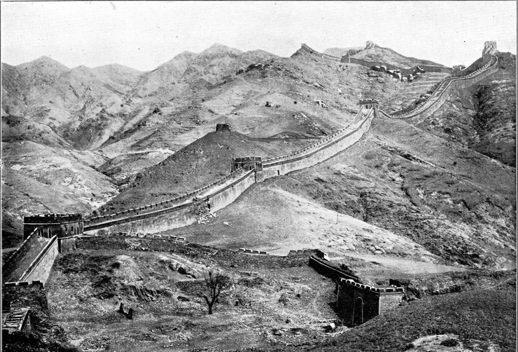The Great Wall sometime before 1906