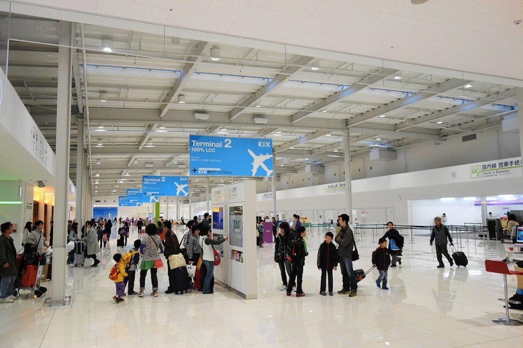 Inside Terminal 2 at KIX