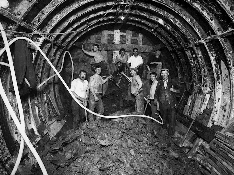 Tunneling the London Underground
