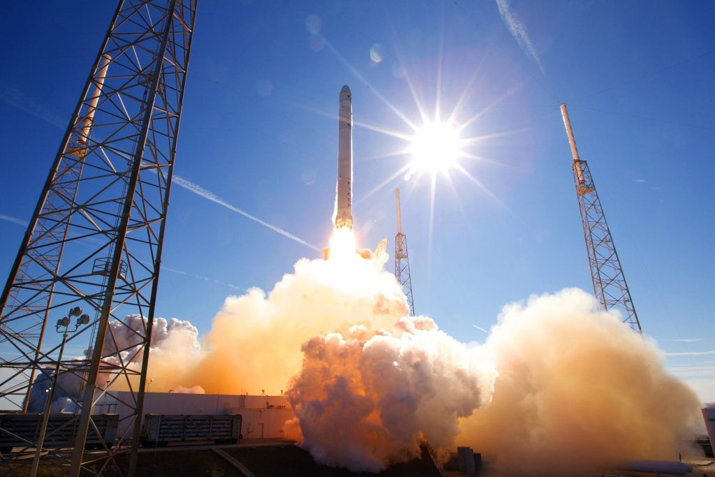 Falcon 9 rocket launch on December 8, 2010