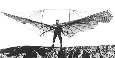 Ornithopter design from 1894
