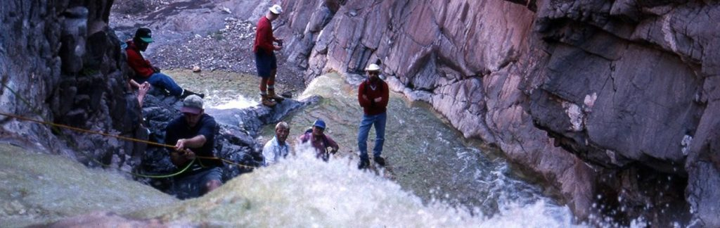 People in the Grand Canyon