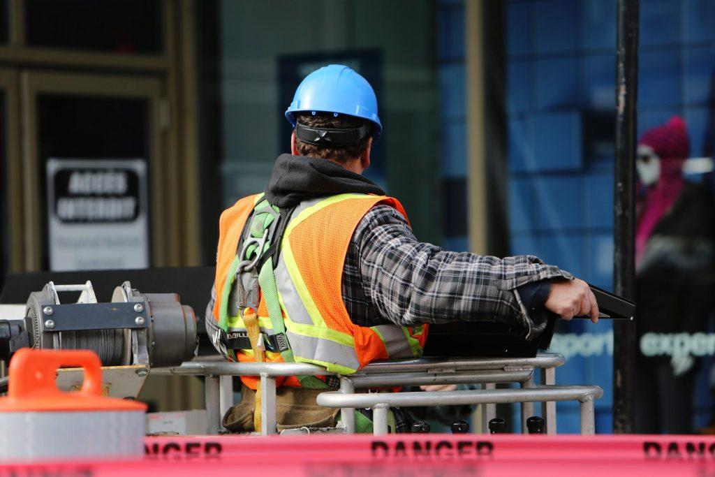 Worker working