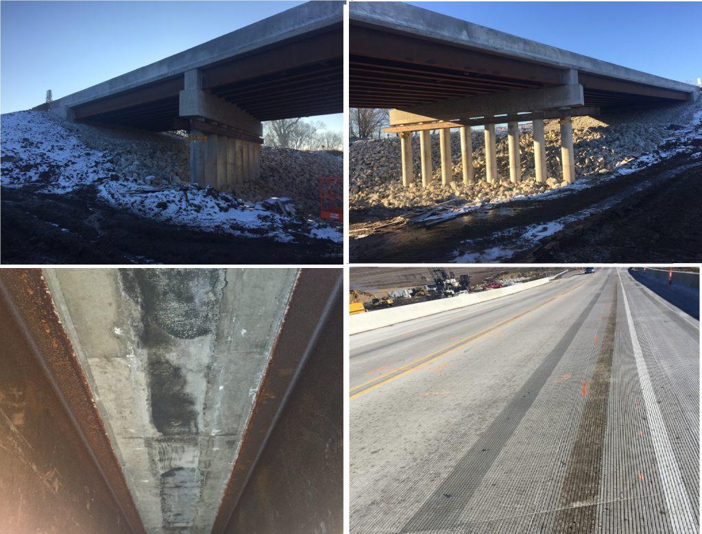 Highway bridges in Iowa