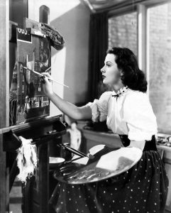 Hedy Lamarr on film