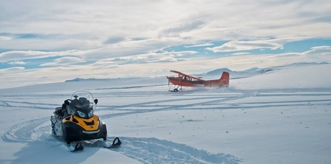 Alaska is often best traveled by all-terrain vehicles or aircraft