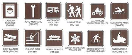 "Examples of ""Temporary Signs."""