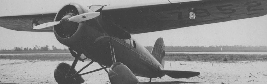 Balck and white of airplane