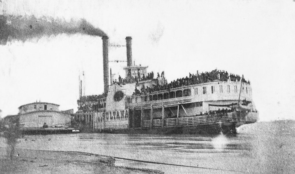 "The ""ill-fated"" 19th Century steamship ""Sultana."""