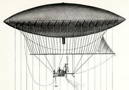 Giffard's Dirigible (1852)
