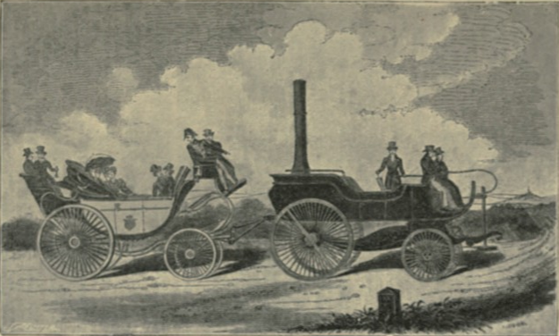 Gurney's steam carriage, 1902