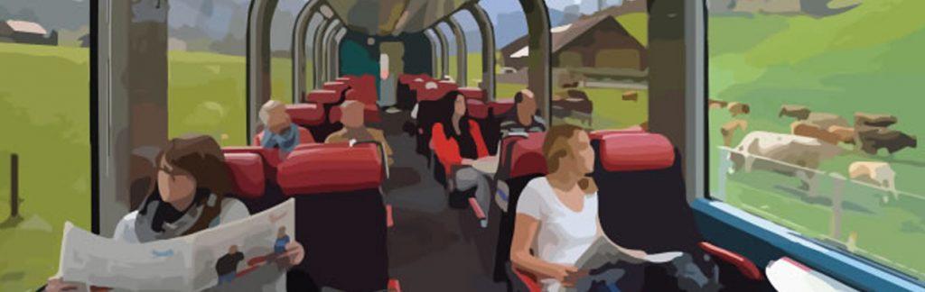 Train in Switzerland