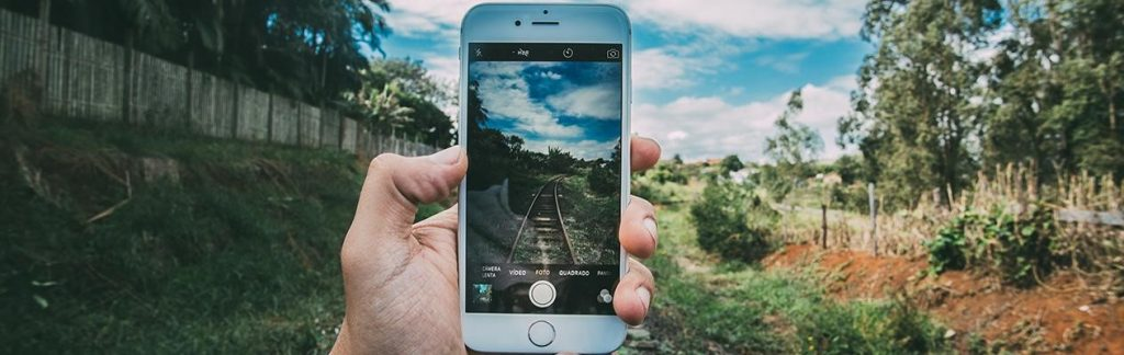 Cellphone train image