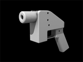 First 3D printed handgun (the Liberator)