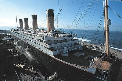 Ship created for the Titanic film