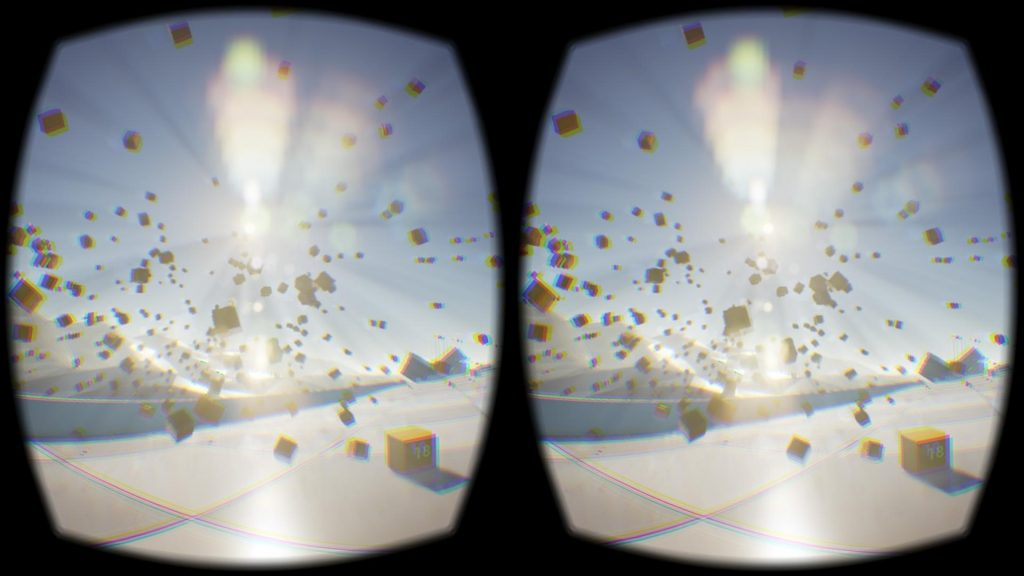 Sample screen capture from an Oculus Rift headset