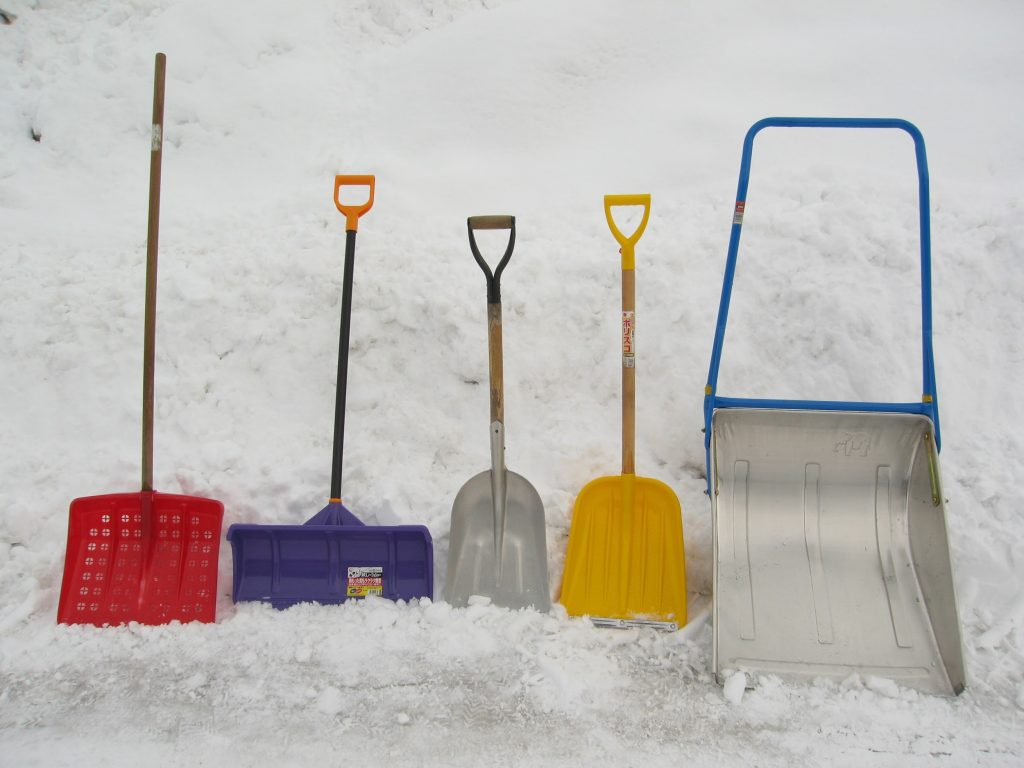 Everyone needs to shovel
