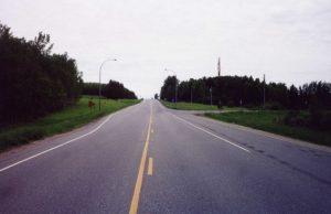 Rural roadway lighting